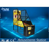 Attractive Design Arcade Basketball Game Machine Metal Cabinet With Flash Light Manufactures