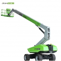 TB27J 88ft Telescopic boom Lift with outreach 69ft Max.500kg capacity for building Manufactures