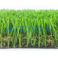 Durable Surface Dog Proof Artificial Grass  , Sports Field Football Synthetic Fake Grass Manufactures