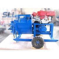 Single Cylinder Cement Mortar Pump For Hydropower Construction Convenient Maintenance Manufactures