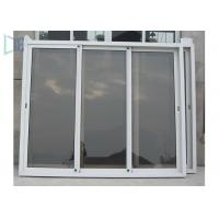 Residential Aluminium Sliding Windows And Doors / Double Glass Sliding Window Manufactures
