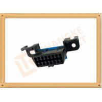 Automotive 16 Pin Obd Female Connector / Obd2 16 Pin Connector SOF009 Manufactures