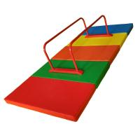 Outdoor Mini Gymnastics Equipment , Metal Parallel Bars Fitness With Mat Manufactures
