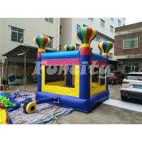 PVC Tarpaulin Inflatable Jumping Castle For Kids , Small Bouncy Castle Manufactures