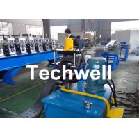 High Efficient Storage Shelf Rack Roll Forming Machine With Material Thickness 2.0-2.5mm Manufactures
