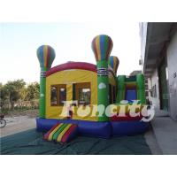 Inflatable Combo Bouncer Castle ,Inflatable Jumping Bouncer for Fun Games Manufactures