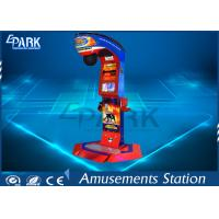 1 Player Punching Arcade Machine / Punching Machine Game With Ticket Drink Prize Manufactures