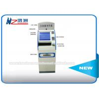 """15"""" Cold Rolled Steel Coin Counting Machine Locations , Touch Screen Monitor Kiosk Cabinet Manufactures"""