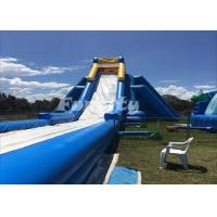 50 Meter Long Inflatable Dry Slide Customized Hippo Water Slide For Fun Manufactures