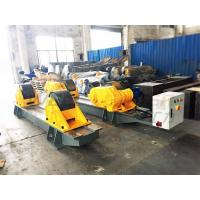 120Ton Pressure Vessel Tank Turning Rolls Conventional Bolt Adjustable Steel Rollers Manufactures