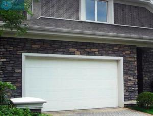 Galvanized Steel Automatic Sectional Garage Door For House Manufactures