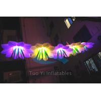 Quality Colorful Led Hanging Inflatable Stage Decoration For Celebration 3 Years for sale