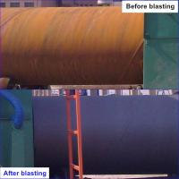 Sa2.5 Roller Conveyor Shot Blasting Machine Steel Pipe And Tube Cleaning Rust Remove Manufactures