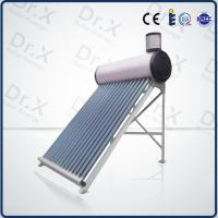 200liter compact non pressurized vacuum tube solar hot water heater Manufactures