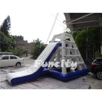 6.5mLx4mWx4.2mH Inflatable Water Toys 0.9mm PVC Tarpaulin Water Jungle Jim Manufactures