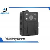 Body - Worn Law Enforcement Body Camera Water Resistant With 2 IR Lights Manufactures