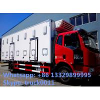 Quality FAW brand 40,000 day old chick transported truck for sale, factory sale best price FAW 4*2 LHD baby chick van truck for sale