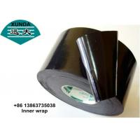Black or white color Anti Corrosive Tape , polyethylene wrapping tape Manufactures