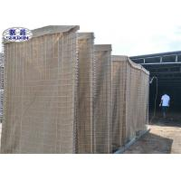 Buy cheap Heavy Duty Military Hesco Barriers MIL10 / Galvanized Gabion Box from wholesalers