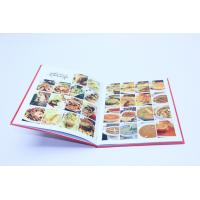 HardCover / SoftCover Cookbook Printing Matt Lamination Color Manufactures