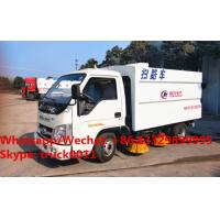Factory sale high quality good price forand 4*2 LHD street sweeper truck, HOT SALE! lowest price forland road sweeper Manufactures