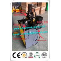 Hydraulic Angle Cutting And Punching , Hydraulic Shearing Machine For Angle Iron Manufactures