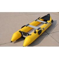 2 Person 0.9mm PVC Inflatable Sea Kayak For Eskimo Hunter , CE Certificate Manufactures