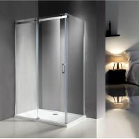 1200X800 MM Popular Bathroom Shower Enclosures With 8MM Glass / Stainless Steel Track Manufactures