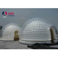 Quality Customized Inflatable Event Tent Strong 0.8mm PVC Clear Bubble Tent for sale