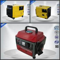 Quietest Small Portable Generator Set Air Cooled 4 Stroke Three Loops Manufactures