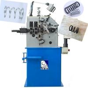 High Efficient 380V Compression Spring Machine With 2.7KW Servo System Manufactures
