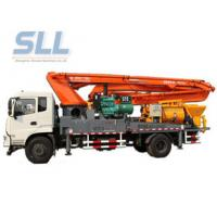 Truck Mounted Cement Concrete Mixer Pump International Purchased Component Manufactures