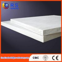 Refractory Ceramic fiber board for industrial kiln / furnace , White Color Manufactures