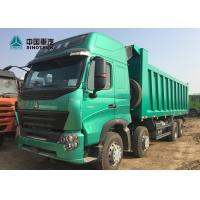 Buy cheap Euro 4 420HP High Roof Cab HOWO A7 Dump Truck With Double Bunker For Phillipine from wholesalers