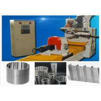 CNC High Effiency Max Od 200 Wedge Wire Screen Welding Machine +/-0.03mm Tolerance Manufactures