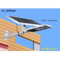 Remote Control 25W Outdoor Solar Street Lights For Square / Park / School Manufactures