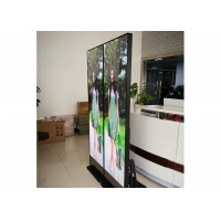 Shop Standing Poster Mirror 1920Hz P3 Creative LED Display Screen Manufactures