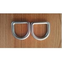 Stainless Steel D Shape Ring Safety D Buckle Forged Hardware M6 - M100 Size Manufactures