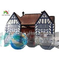 Buy cheap Outdoor Pub Cabin 8 X 6m Airtight Inflatable Event Tent With Digital Printing from wholesalers