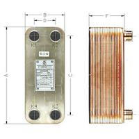 China Stainless Steel 316 plates Copper Brazed Heat Exchanger for Marine Oil Cooler BL 600 Series on sale