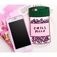 Buy cheap Chill pills love options silicone Case For iPhone 4 5s 6 plus 7 SAMSUNG s5 s4 S6 from wholesalers