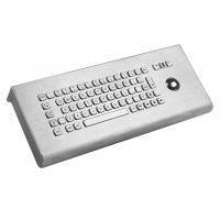 IP65 explosion proof 38mm trackball stainless keyboard wall mounted desktop