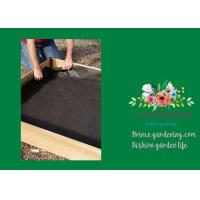 """Quality Black Raised Garden Bed Plastic Liner 3"""" Liners Are 10"""" High Four sizes: 3' x 3', 3' x 6', 4' x 4' and 4' x 8' 1years for sale"""