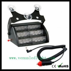 1x 18 Amber White LED 3x Mode Interior Emergency Deck Dash Flash Strobe Lights Manufactures