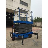 3Kw with 450Kg loading  reaching height 12m Motorized  Scissor Lift Manufactures