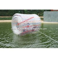 Large Transparent Adults Inflatable Roller Ball For Water Playground Manufactures