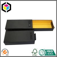 Rectangular Drawer Packaging Paper Box; Fancy Yellow Color Garment Gift Box Manufactures