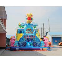 Quality 0.55MM PVC Cheap Children Bouncy House Type Giant Commercial Inflatable Jumper for sale