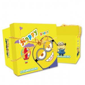 Quality Handmade Colored Gift Custom Printed Cardboard Boxes Cartoon Printing Design for sale