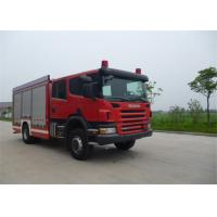 G131-9 Gearbox Reversible Cab Emergency Rescue Vehicle 8960×2475×3400mm